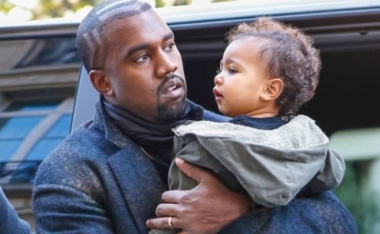 Канье Уэст снял свою дочь в новом клипе