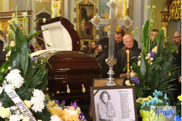 Погиб Андрей Кузьменко: прощание с артистом во Львове