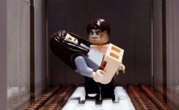 50 оттенков серого пересняли в Lego (ВИДЕО)