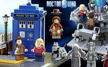 Доктор Кто превратился в конструктор Lego (ФОТО)