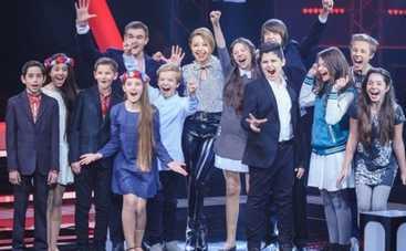 Голос. Діти 2: Тина Кароль снимет совместный клип с участниками шоу