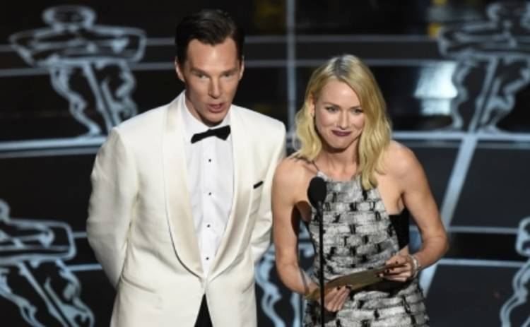 Оскар 2015: голый Нил Харрис и Камбербэтч с флягой (ФОТО, ВИДЕО)