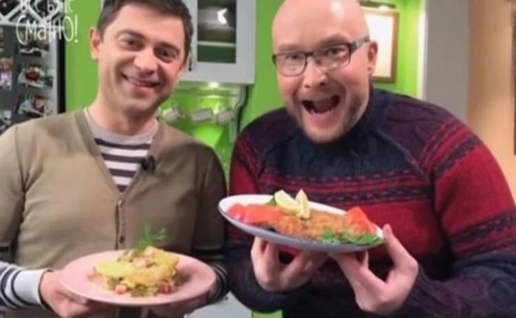 Все буде смачно: Павел Костицын научился готовить венский шницель (ВИДЕО)