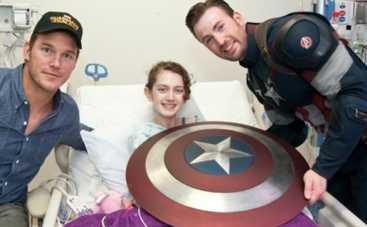 Крис Эванс стал Мстителем ради больных детей