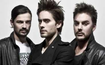Джаред Лето и группа 30 Seconds to Mars привезут в Украину любовь и мечты