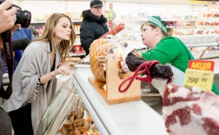 Инспектор Фреймут навела шороху в супермаркетах Киева (ВИДЕО)