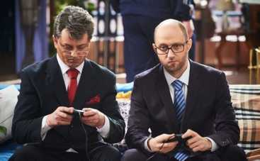 Киев Вечерний: Тимошенко, Яценюк и Кличко в Пороблено в Україні