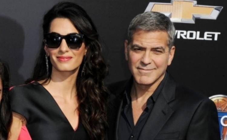 Джордж Клуни ссорится с женой из-за баскетбола