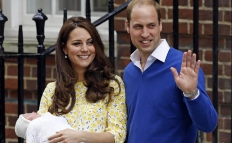 Кейт Миддлтон и принц Уильям принимают первые подарки для дочери