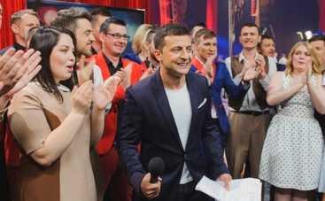 Лига Смеха превратила Потапа в Екатерину II, а Юрия Горбунова сделала тестем Арсения Яценюка (ФОТО)