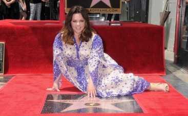 Мелисса МакКарти получила звезду на Аллее славы в Голливуде