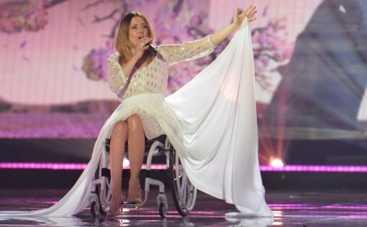 Евровидение 2015: Певица из Польши в инвалидном кресле поразила своим пением