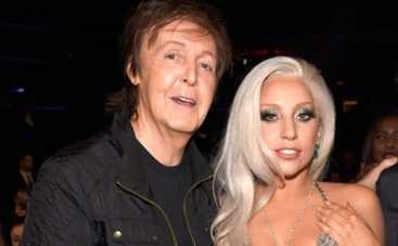 Леди Гага и Пол МакКартни улетели в облака