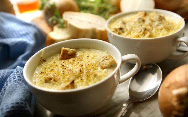 Луковый суп от Сергея Калинина