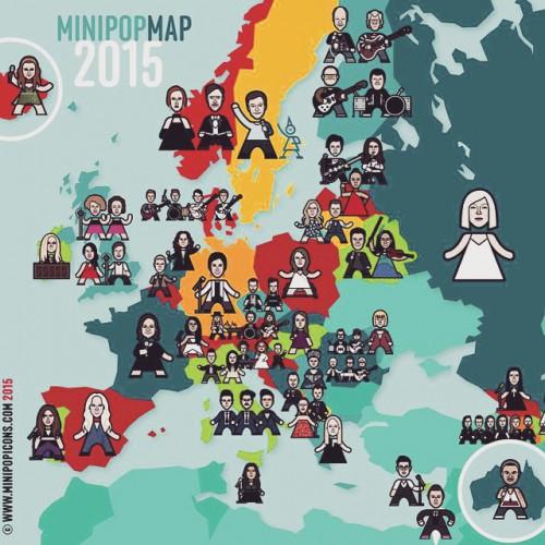 Финал Евровидения 2015: Как проголосовали страны