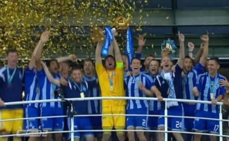 Динамо – Шахтер: киевляне одержали победу в финале Кубка Украины (ВИДЕО)