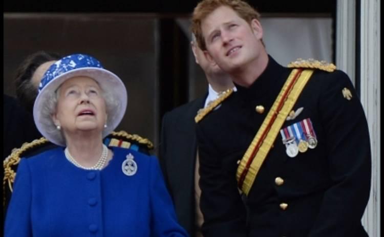 Принц Гарри подался в рыцари