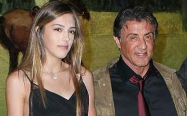 Сильвестр Сталлоне: 16-летняя дочь актера сделала первый шаг в карьере модели (ФОТО)