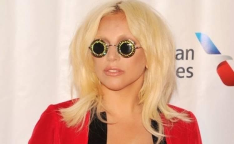 Леди Гага ослепила Зал славы авторов песен стразами в глазах (ФОТО)
