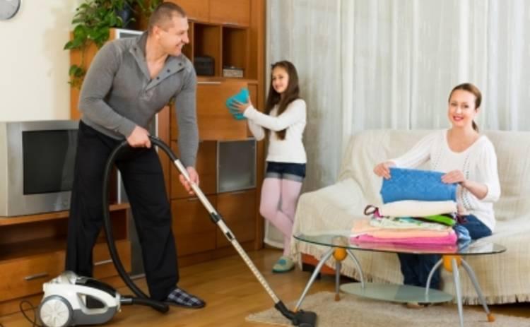 Генеральная уборка: как навести порядок в квартире всей семьей