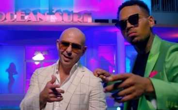 Крис Браун и Pitbull повеселились в новом клипе (ВИДЕО)