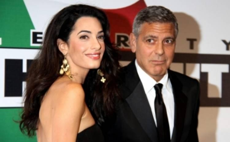 Джордж Клуни станет отцом – Амаль Аламуддин беременна