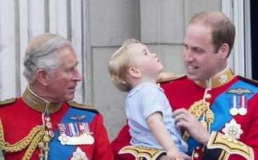 Принц Чарльз обучал внука мужским обязанностям