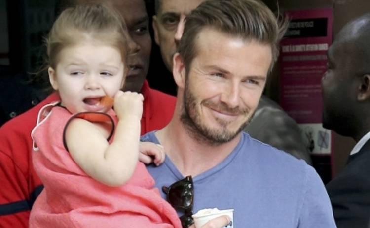 Дэвид Бекхэм: 3-летняя дочь сделала папе новое тату (ФОТО)