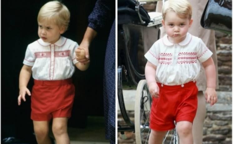 Кейт Миддлтон и принц Уильям сделали из сына копию отца (ФОТО)