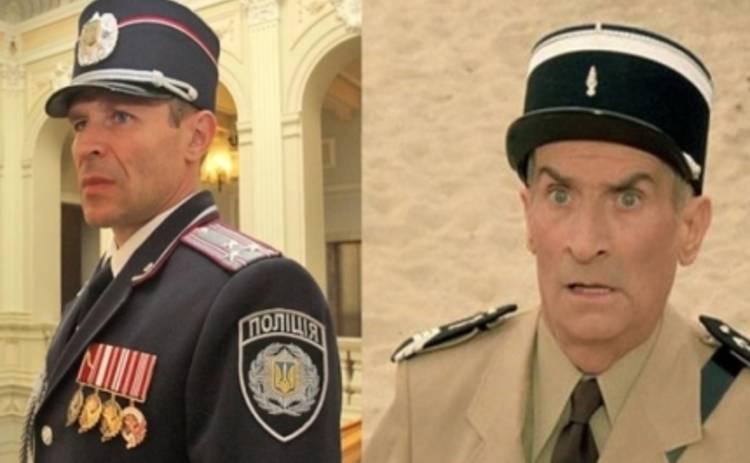 Новая полиция Украины: лучшие фотоприколы на тему дня