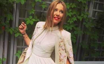 Ксения Собчак помогала грузинским семьям