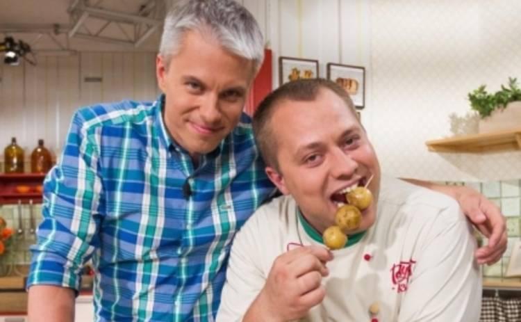 Готовим вместе: Андрей Доманский балуется молодой картошкой (ВИДЕО)