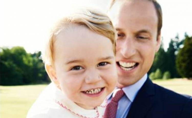 Принц Джордж отпраздновал двухлетие