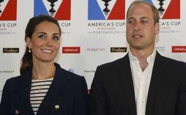 Кейт Миддлтон и принц Уильям вступили в конфликт с погодой (ФОТО)