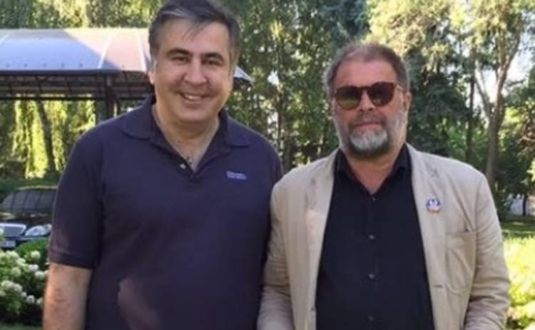 Борис Гребенщиков встретился с Михаилом Саакашвили