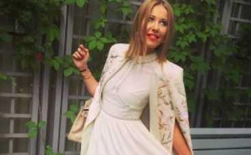 Ксения Собчак возмущена уничтожением продуктов в России (ФОТО)