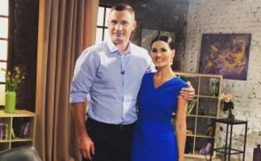 Маша Ефросинина раскрутила Кличко на спарринг