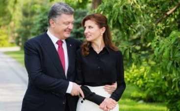 Петр Порошенко сказал жене спасибо в 31-й раз (ФОТО)