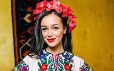 Мария Яремчук обожает носить вышиванки