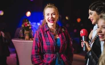 Ukrainian Fashion Week: беременная Слава из НеАнгелов пришла на винтажный показ