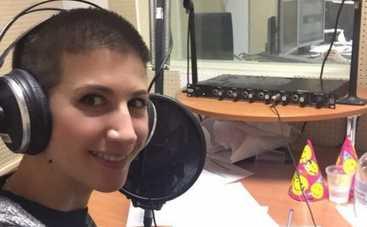 Анита Луценко подалась в радиоведущие