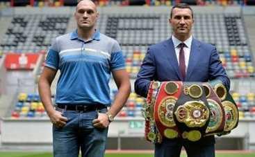 Бой Кличко – Фьюри: боксеры показали как будут бить друг друга (ФОТО)