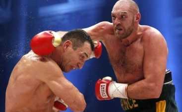 Бой Кличко - Фьюри: победитель спел прямо на ринге (ВИДЕО)