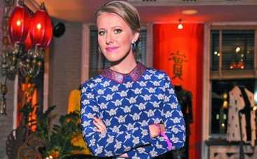 Ксения Собчак пришла на корпоратив в платье украинского дизайнера (ФОТО)