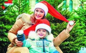 Ольга Кабо на Новый год лепит снеговиков и играет снежки – никаких корпоративов!