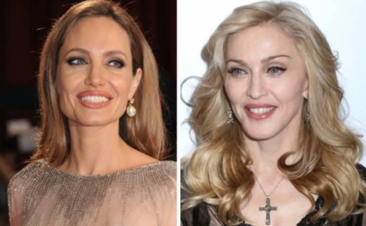 Анджелина Джоли и Мадонна возглавили рейтинг самых нашумевших звезд года
