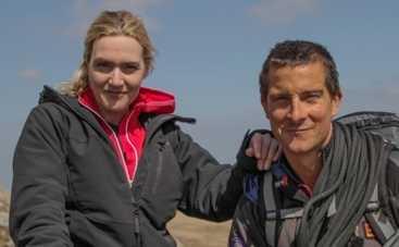 Беар Гриллс научит Кейт Уинслет спасаться с тонущего корабля