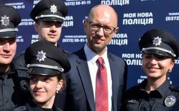 Полиция оштрафовала жену Яценюка за нарушение ПДД