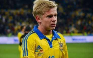 Футболист сборной Украины мечтает построить карьеру в России