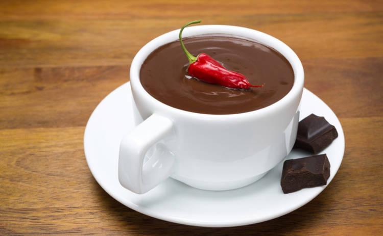 Черный шоколад с перцем чили: рецепт пикантного напитка